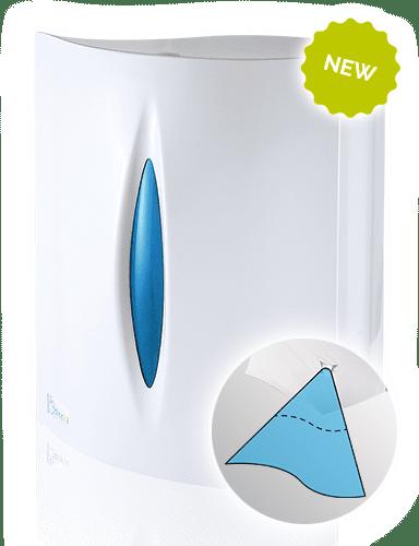 New Reel paper dispenser precut